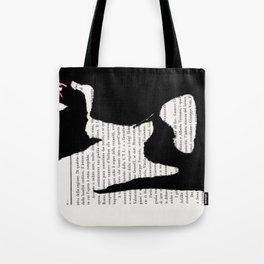 Coricata nera Tote Bag
