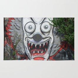 Creepy Clown Rug