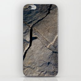 These Walls are Made of Rock iPhone Skin