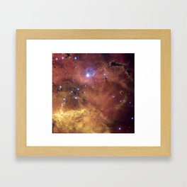Cosmic Concoction Framed Art Print