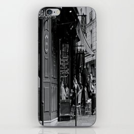 At the Brasserie iPhone Skin