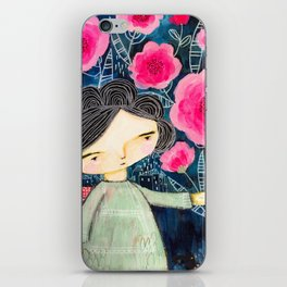 Quilted Princess iPhone Skin