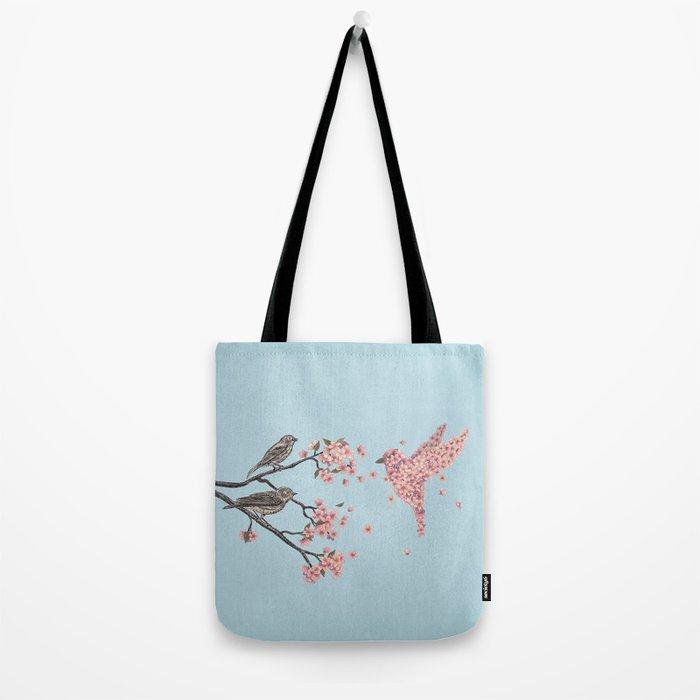 Blossom Bird  Tote Bag