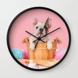 Take a Bath Wall Clock