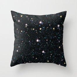 Nebula texture #19: Gazer Throw Pillow