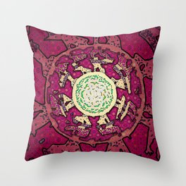 Realms of Fractal Beauty Throw Pillow