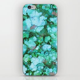 Green with Envy iPhone Skin