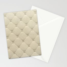 Cream Quilted Stationery Cards