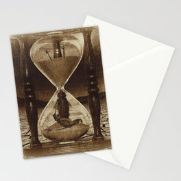Sands of Time ... Memento Mori - Sepia Stationery Cards