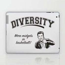 Diversity - Midgets in Basketball Laptop & iPad Skin