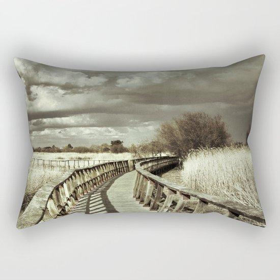 The Bridge. Retro serie Rectangular Pillow