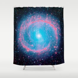 Lying in a zero circle ii Shower Curtain