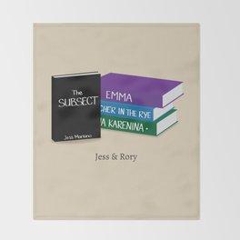 Jess & Rory Throw Blanket