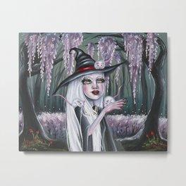White Witch Metal Print