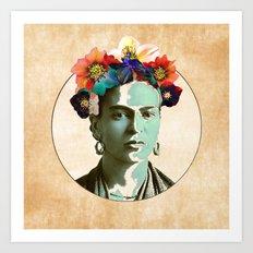 Mi Frida Art Print