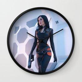 Miranda Lawson Wall Clock