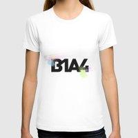 font T-shirts featuring B1A4 font by B1A4 & Bana