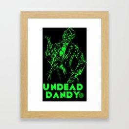 undead dandy Framed Art Print