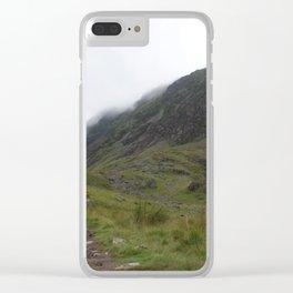 Wales Landscape 11 Cader Idris Clear iPhone Case