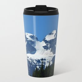 Twin Summits - Glacier Natnl Park Mountains, BC, Canada Travel Mug