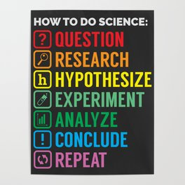 How To Science Poster