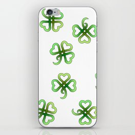 Celtic Clover iPhone Skin