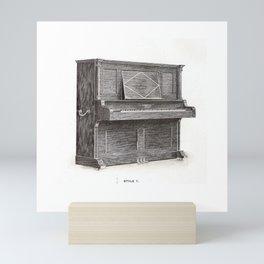 Kimball Piano 12 Mini Art Print