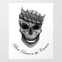Bow Down to the Crown Art Print