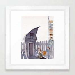 Debt - Print Version Framed Art Print