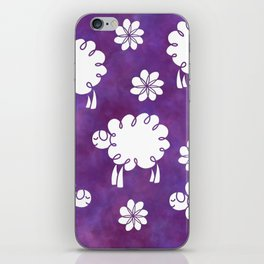 Cotton Candy Sheep - LaurensColour iPhone Skin