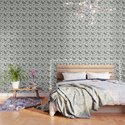 Rosemary rustic pattern by ksena