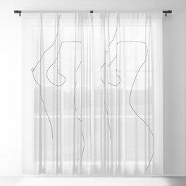 Fine Intimacy Sheer Curtain
