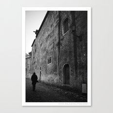 ... the day before yesterday ... Canvas Print