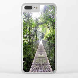 No Turning Back Clear iPhone Case