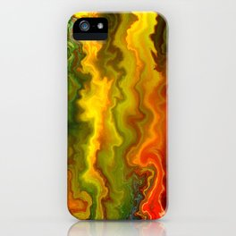 Colorful Thoughts by rafi talby iPhone Case