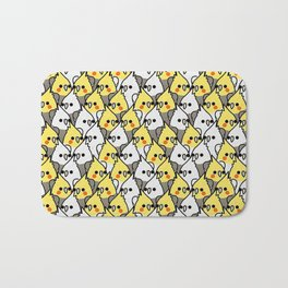 Too Many Birds! - lovebrd Bath Mat