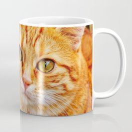 Cute red cat Coffee Mug
