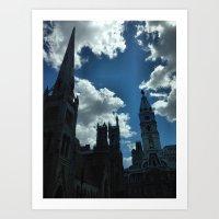 philadelphia Art Prints featuring Philadelphia by Julie Maxwell