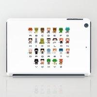 ewok iPad Cases featuring Star Wars Alphabet by PixelPower
