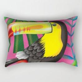 Toucan Tropic Rectangular Pillow