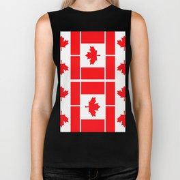 Canadian Flag Biker Tank