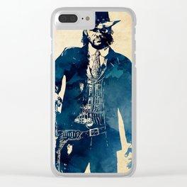 John Marston Clear iPhone Case