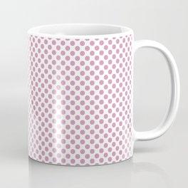 Moonlight Mauve Polka Dots Coffee Mug