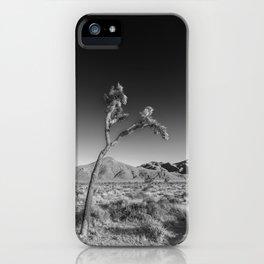 Joshua Tree National Park | Monochrom iPhone Case