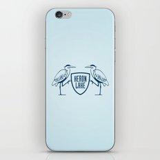 HERON LAKE iPhone & iPod Skin