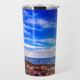 the Barcolana regatta in the gulf of Trieste Travel Mug