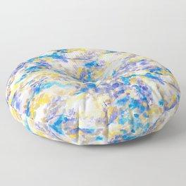Canopy Blue Floor Pillow