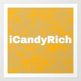iCandyRich Colour Palette Mix Art Print