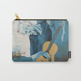 Old Guitarist (a Picasso study) Carry-All Pouch