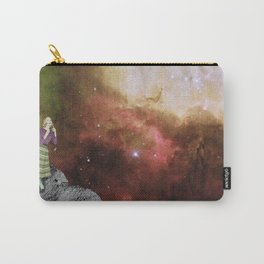 Lady in Space III Carry-All Pouch
